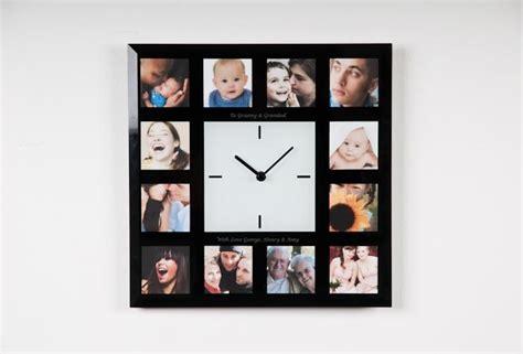 personalised photo frame clock gettingpersonal co uk