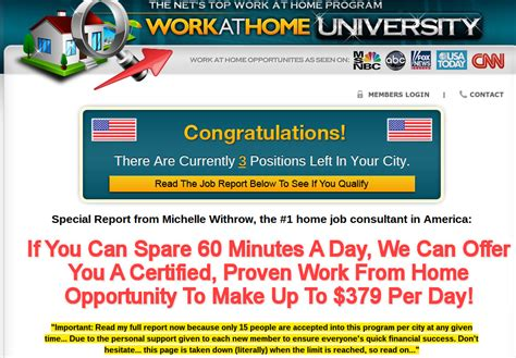 home careers scam stay clear of this
