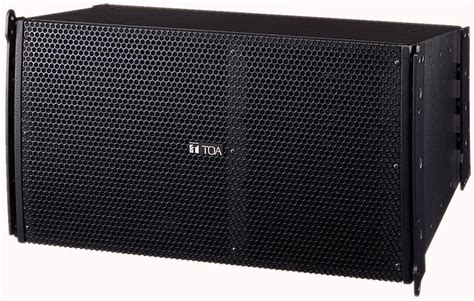 Speaker Toa Array toa sr a12s 2 way line array speaker system