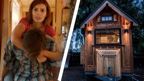 living in a tiny house people try living in a tiny house