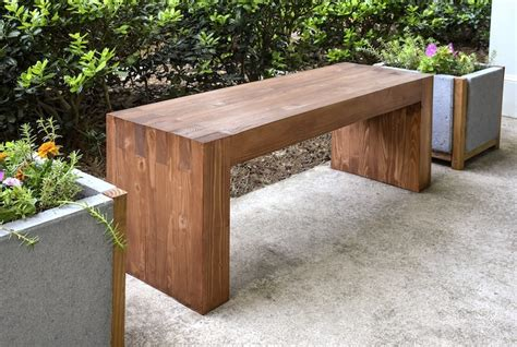 great awesome wood outdoor bench for household prepare vzlomvk info williams sonoma inspired diy outdoor bench diycandy com