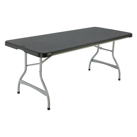 Lifetime 6 Foot Folding Table Lifetime Products 6 Ft Commercial Stacking Folding Table Folding Tables Chairs At Hayneedle