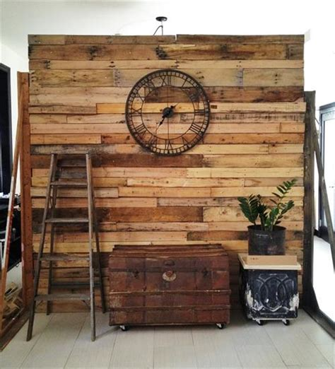 wooden partition wall 6 pallet wall divider ideas pallets designs