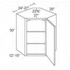 Corner Kitchen Cabinet Dimensions Wdc2430 Merlot Glaze Diagonal Corner Wall Cabinet
