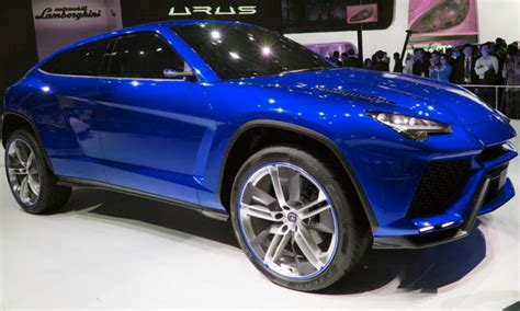 Lamborghini Plans To Assemble Its New Suv At The