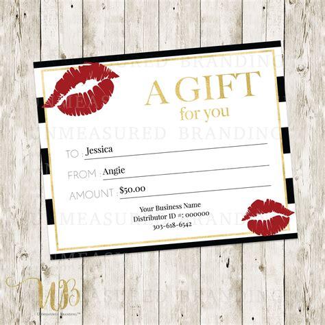 avon gift certificates templates free lipsense gift certificate template lipsense makeup