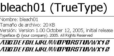 pack de fonts de anime taringa