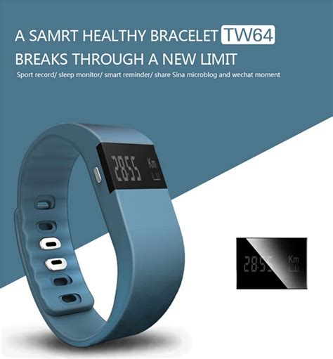 TW64 Smart Wristband   Outdoor Gear Blog