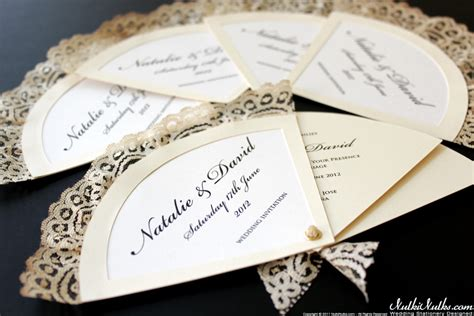 Wedding Invitation Themes by Fans Wedding Theme Real Weddings Stationery By