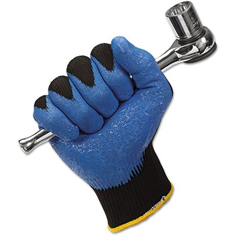 Lsh Cold Black by Ansell 48 126 Edge Pu Gloves Lsh Industrial Solutions