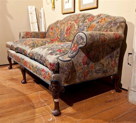 english style sofa english victorian style needlepoint sofa at 1stdibs