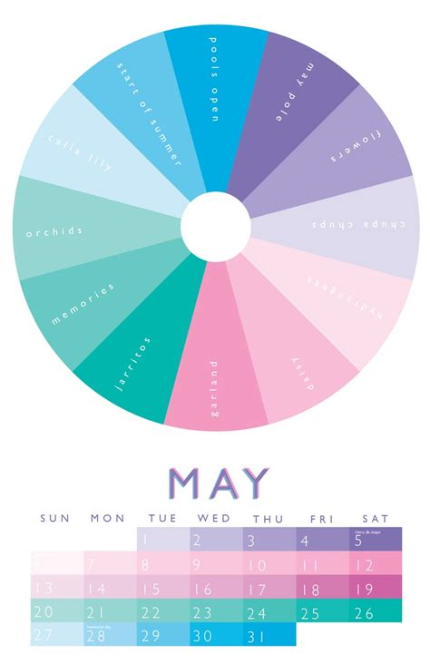 may colors 14 best images about color wheel 2012 calendar on