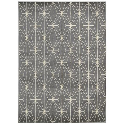 pattern grey rug graphite geometric pattern rug