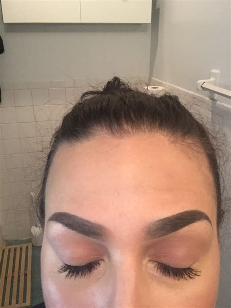 what does your skin look like after tattoo removal i got my eyebrows tattooed plus a tutorial do