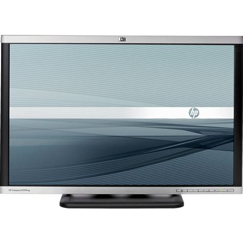 Widescreen Display Now Available On A Near You by Hp Compaq La2205wg 22 Quot Widescreen Lcd Computer Nm274a8 Aba