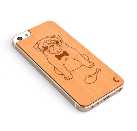 pug iphone 5 iphone 5 5s skin pug craftedcover