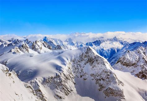 wallpaper mountains winter peaks snow covered hd