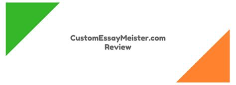 Custom Essay Meister by Customessaymeister Review Scored 3 7 10 Studydemic