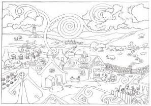 coloring page for adults coloring pages for adults free large images