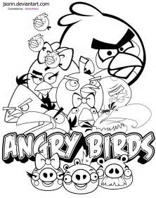 free coloring pages angry birds transformers