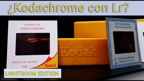 libro kodachrome ajustes preestablecidos en lightroom kodachrome y la piedra filosofal youtube