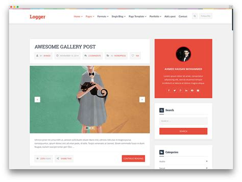 30 best tumblr style wordpress blog themes for personal