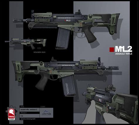 Dead Revolver Reg Us artstation near future assault rifle kris thaler