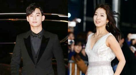 Setelan Miss Jing park shin hye soo hyun pukau fans di carpet sbs
