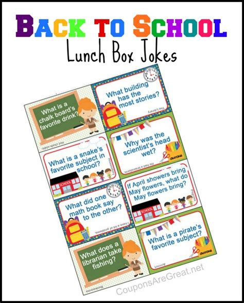 back to school lunch box jokes notes happiness is homemade lunchbox jokes for every season and holiday over the big