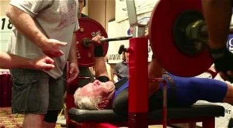 old man bench press 91 year old man smashes world bench press record age d