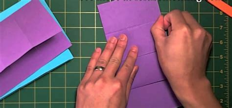 how to make an infinity card how to create an origami infinite flipper with the cut