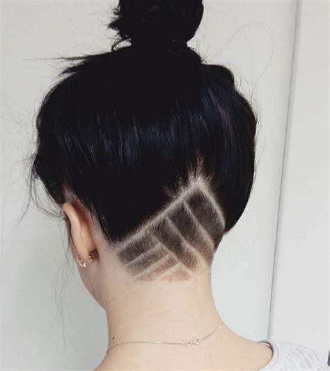 tattoo back hair 10 undercut tattoos you need to try asap undercut
