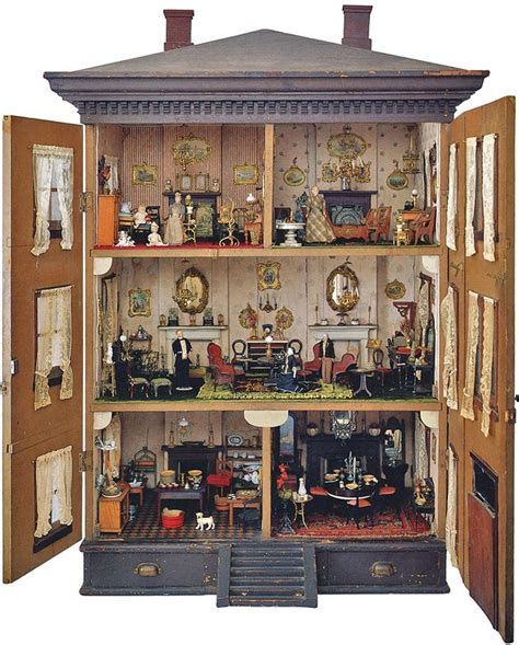 small doll house antique doll house book the small world of antique dolls houses access the online