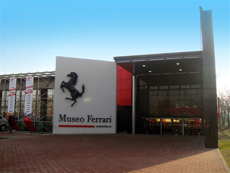 Museo Ferrari Maranello Mgt Design