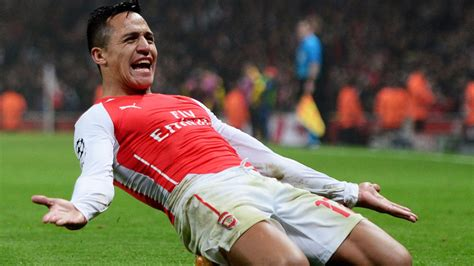alexis sanchez how many goals for arsenal chions league alexis sanchez key to arsenal s success