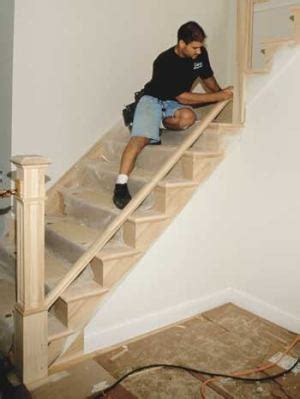 How To Replace A Banister by Installing Stair Railings Jlc Staircases