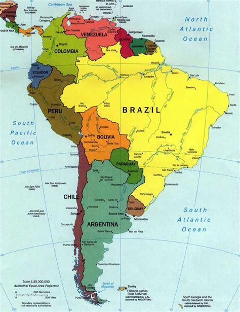 imagenes de mapa sudamerica mapa sudamerica universo guia