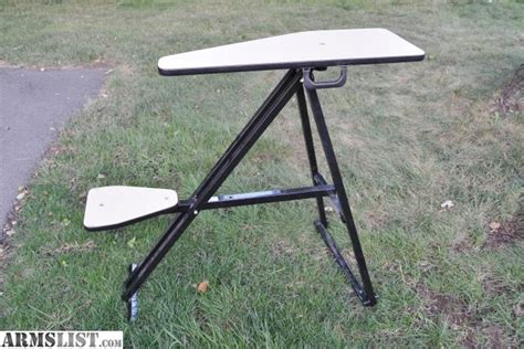 portable shooting benches armslist for sale portable shooting bench