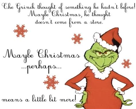 grinch printable quotes quotesgram