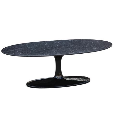 buy flower coffee table oval marble top at lifeix design