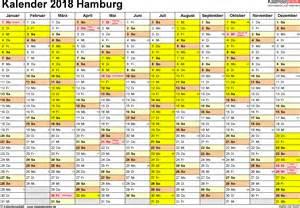 Kalender 2018 Zum Ausdrucken Mit Ferien Hamburg Ferien Hamburg 2018 220 Bersicht Der Ferientermine