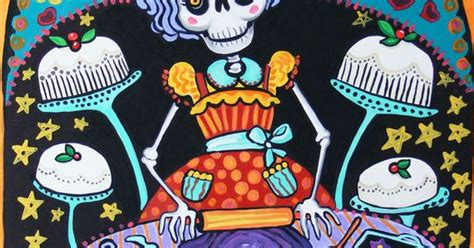 Day Of The Dead Kitchen Decor by Folk Print Mexican Day Of The Dead Kitchen Wall Decor