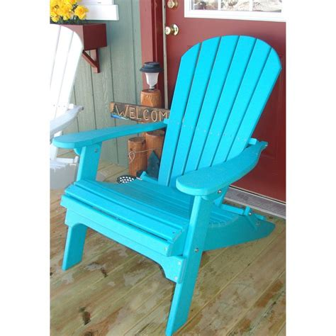 Teal Adirondack Chairs by Teal Recycled Plastic Adirondack Chair 701