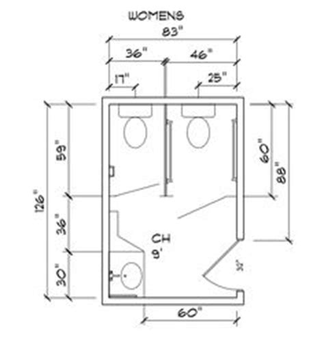 standard commercial bathroom size public bathroom layout dimensions in meters google