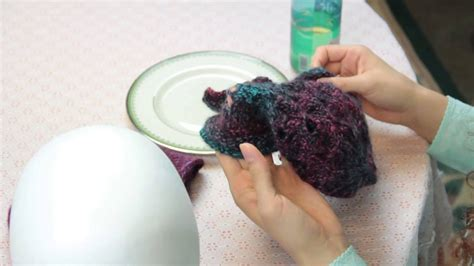 how to block a knitted hat how to block a knit hat knitting techniques