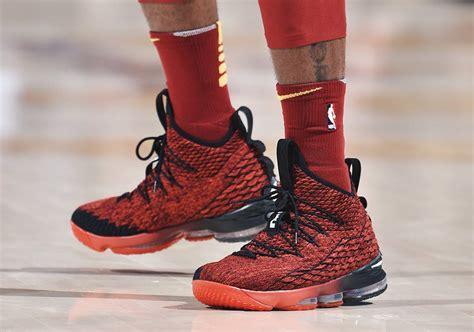 Nike Lebron 15 nike lebron 15 pe black look sneakernews