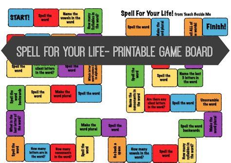 online printable board games free spelling board game free homeschool deals