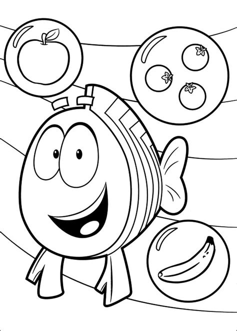 bubble guppies coloring pages games bubble guppies pictures color on pages coloring pages
