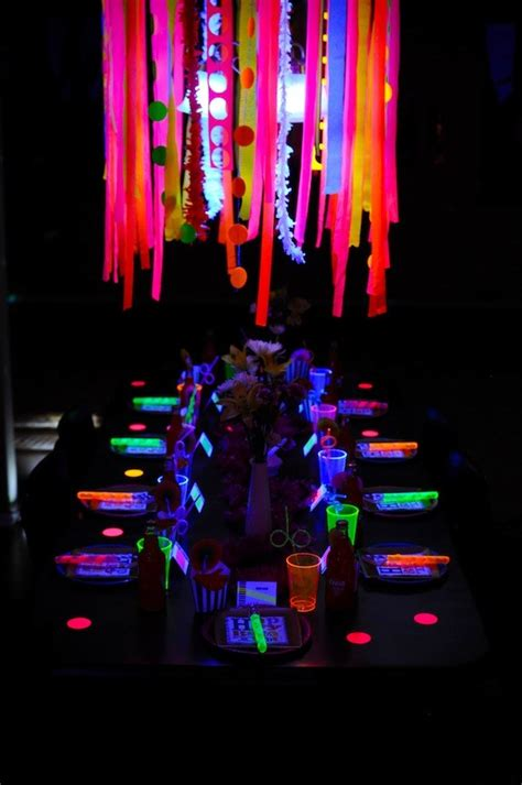 15 glow in the ideas b lovely events
