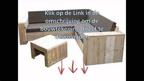 pallet bank bouwtekening bouwtekening loungebank van pallets youtube